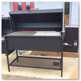 "60"" Reverse Flow Smoker with Optional Pellet Augur"