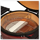 Kamado Joe Classic With Cart