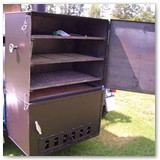 "12' x 37"" Dual Hog Cooker and Pig Roaster"