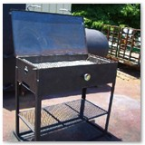 Heavy duty charcoal grills