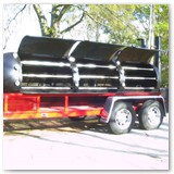 "13' ft. x 41"" with stainless steel racks"