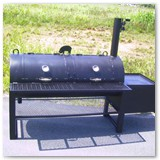 "7' x 24"" patio smoker"