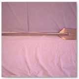 "Stainless steel 42"" paddle"